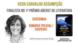finalista 1o prêmio aberst de Literatura